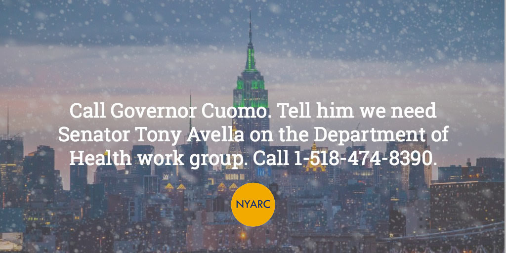 Action Alert: Contact Governor Cuomo