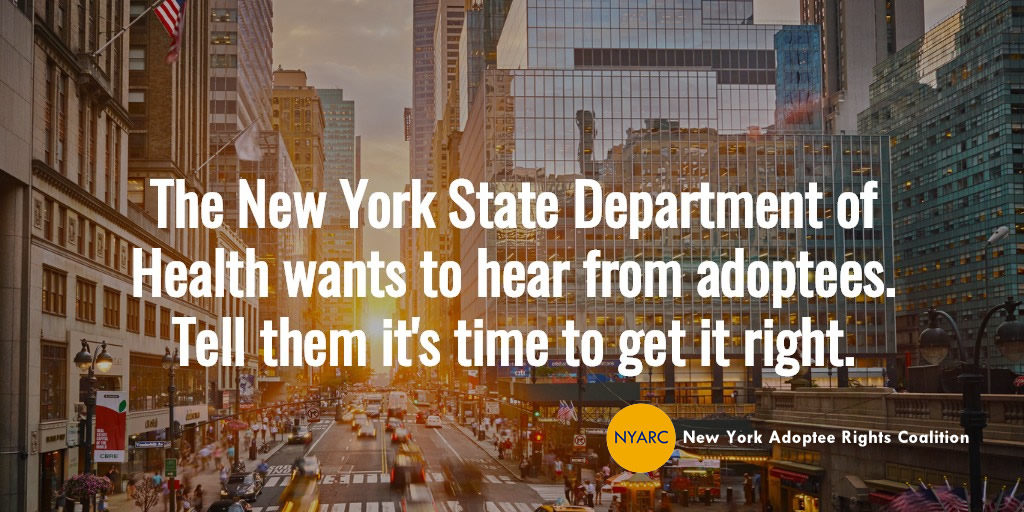 Action Needed: The New York State DOH Wants Your Opinion
